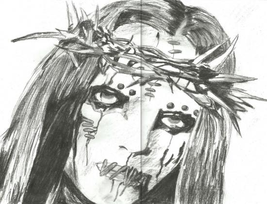 Portrait Of Joey Jordison By Klaara On Stars Portraits